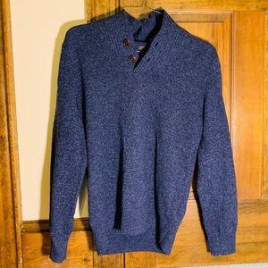 J. Crew Men's Navy Sweater